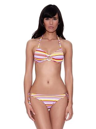 Bikini Shaleen (Rojo / Violeta)