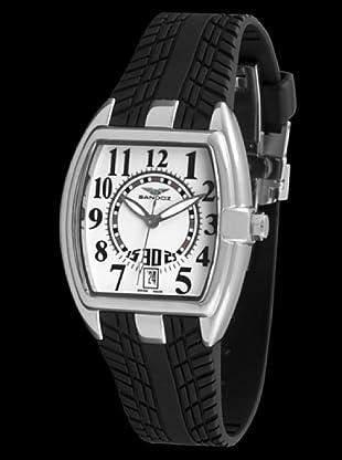 Sandoz 81254-00 - Reloj Fernando Alonso Señora negro / blanco
