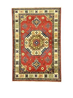 Eden Carpets Teppich Uzebekistan rot/mehrfarbig 150 x 101 cm