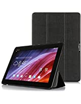 i-Blason Asus Transformer Pad TF103C Case - i-Folio Slim Hard Shell Stand Case Cover [Life Time Warranty] (Asus Transformer TF103C, Black)