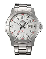 Orient White Dial Analogue Watch for Men (SUNE9006W0)