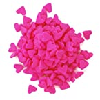 Dress My Cupcake DMC27258 Decorating Edible Cake and Cookie Confetti Sprinkles, Pink Hearts, 2.6-Ounce