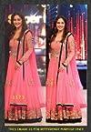 Madhuri Dixit Pink Anarkali Suit