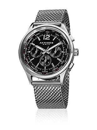 Akribos XXIV Reloj con movimiento cuarzo suizo Man AK716SSB 42.5 mm