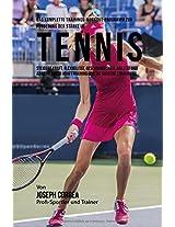 Das Komplette Trainings-workout-programm Zur Forderung Der Starke Im Tennis