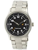 Fastrack NE3001SM01 Men's Watch-Silver
