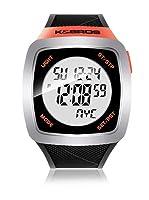 K&BROS Reloj 9567 (Negro Naranja)