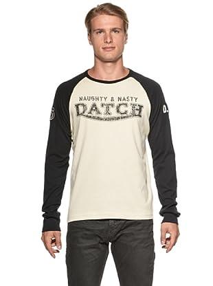 Datch Camiseta Anguillara Sabazia (Natural / Negro)