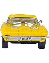 KINSMART 1963 Corvette String Ray - Yellow