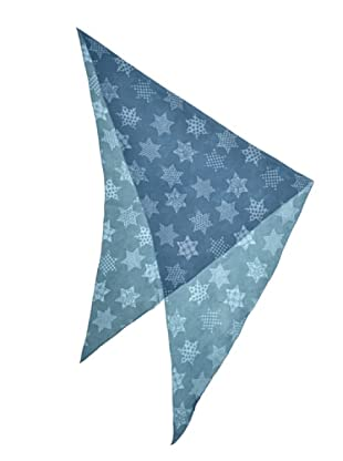 Eccentrica Foulard Estrellas Azul
