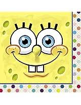 SpongeBob SquarePants Beverage Napkins, 16ct