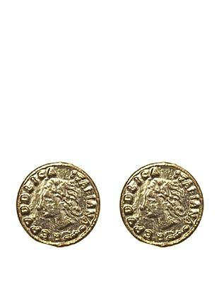 Córdoba Joyeros Pendientes Moneda Romana en Oro