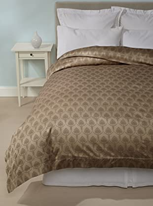 Peacock Alley La Scala Duvet Cover (Mocha)