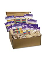 Wood Crafts Classroom Activities Kit, 2100 Pieces