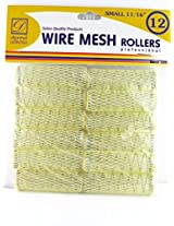 "Donna 11/16"" Small Wire Mesh Hair Rollers 12 Ct."