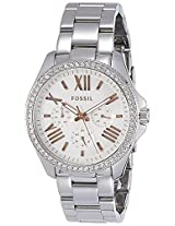 Fossil End of Season Cecile Analog Silver Dial Women's Watch - AM4629I