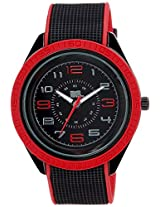 MTV Analog Black Dial Men's Watch - B7005RE