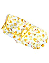 Summer Infant SwaddleMe Adjustable Infant Wrap (Small/Med Yellow Duck))