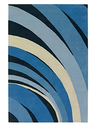 Chandra Counterfeit Studio Hand Tufted Wool Rug (Blue Skies)