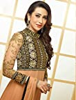 Khantil Karishma Kapoor Cream Designer Anarkali Suit KSM22005