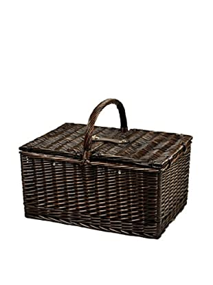 Picnic at Ascot Surrey Picnic Basket for Two w/Coffee Service, Hamptons