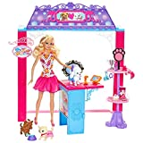 Barbie Shops With Doll Assortment, Multi Color