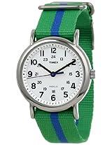 Timex T2p143 Weekender Slip Thru Watch