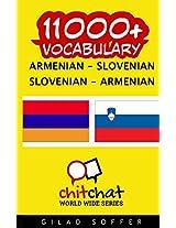11000+ Armenian - Slovenian, Slovenian - Armenian Vocabulary