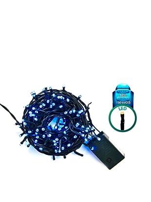 Avocado Guirnalda 150 LED Controlador 8 Funciones Azul