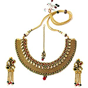 Daamak Jewellery Antique Finish Bridal Necklace