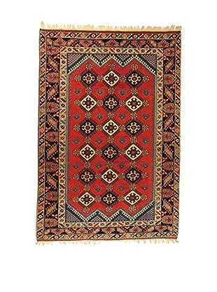 L'Eden del Tappeto Teppich Doshemalti rot/mehrfarbig 276t x t190 cm