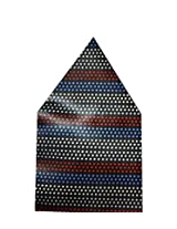 Navaksha Multicolor Dots Style Pocket Square