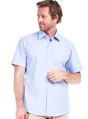 Cortefiel Camisa Pinzas (Azul)