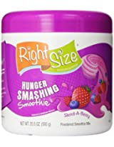 RightSize Hunger Smashing Smoothie Powder, Slend-A-Berry, 20.5 Ounce