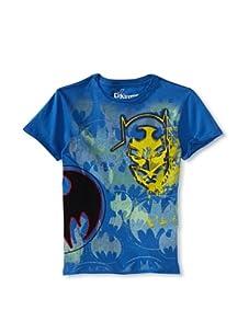 Kid's Republic Boy's Radiowave Batman T-Shirt (Royal Blue)