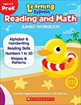 Learning Express Reading and Math Jumbo Workbook PreK