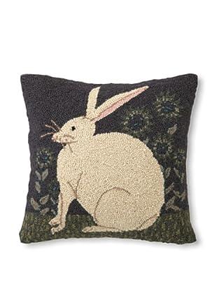 Warren Kimble Hare with Sunflowers Hook Pillow