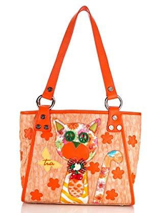 Tua By Braccialini Borsa Wafer arancione