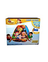 Disneys Jake and the Neverland Pirates Treasure Camp N Play Tent