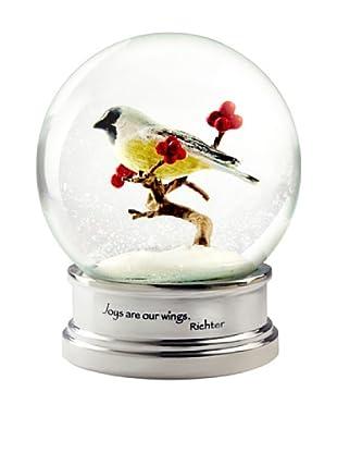 CoolSnowGlobes Chickadee Snow Globe