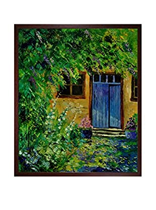 Pol Ledent My Glycine Framed Canvas Print