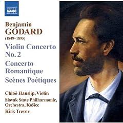 Naxos バンジャマン・ゴダール:ヴァイオリン協奏曲第2 番 他の商品写真