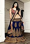 Bollywood Daisy Shah Faux Georgette Lehenga Choli In Blue Colour 2358