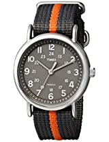 Timex Weekender Indiglo Analog Grey Dial Men's Watch - T2N649