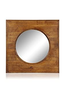 Cooper Classics Thorton Oversized Mirror, Natural Wood