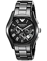 Emporio Armani Ceramic Analog Black Dial Men's Watch AR1400