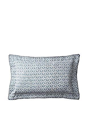 Belmont Home Amira Decorative Pillow, Indigo/White