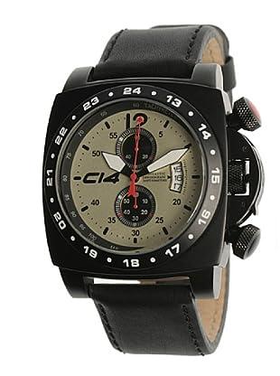Carbon 14 A13 - Reloj Caballero Movimiento Quarzo Correa Caucho Negro