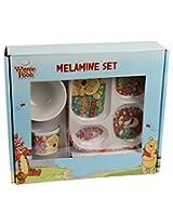 3 Pc Assortment Kids Melamine Gift Set Plate, Mug, Bowl - Pooh