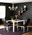 Housefull Bella Dining Set in Blue & Black